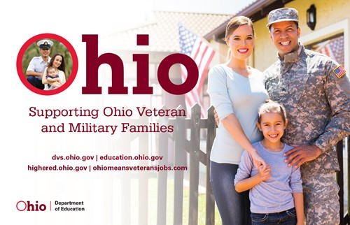 Cover for Supporting Ohio Veteran and Military Families document