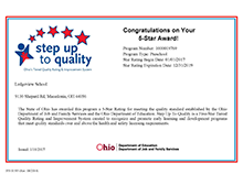 Step Up to Quality Award